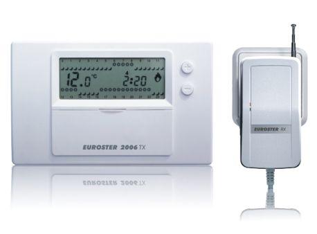 Euroster 2006TX Недельный программатор 5-35°C, аналог 2006, оснащен радиоприемником RX