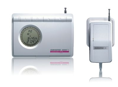 Euroster TXRX Беспроводной недельный программатор (беспроводная версия программатора 3006), радиоприемник RX, антена на корпусе, без датчика темп. пола  цена