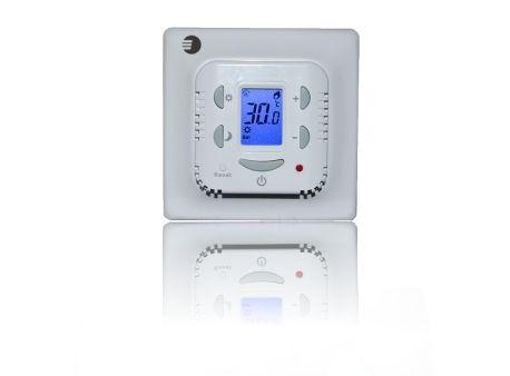 Euroster 506 Терморег. комнатный 16А 5-45°C, ЖК экран, 2 датчика: окруж.среды и пола