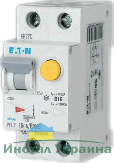 Eaton Дифференциальный автоматический выключатель PFL7-10/1N/B/0,3 (165592)