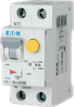 Eaton Дифференциальный автоматический выключатель PFL7-10/1N/B/0,3 (165592) цена