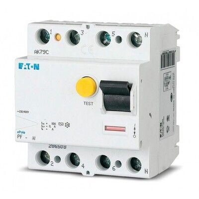 Eaton Дифференциальный выключатель напряжения PF4-63/4/0,03 (293177) цены