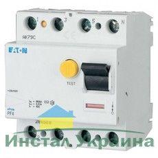 Eaton Дифференциальный выключатель напряжения PF4-40/4/0,03 (293175)
