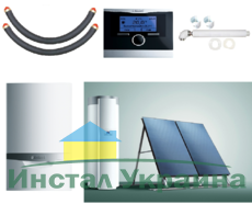 Пакет Vaillant ecoTEC plus VU INT 386/5+auroSTEP plus 2.250 HF+VRC470 (0020201534)