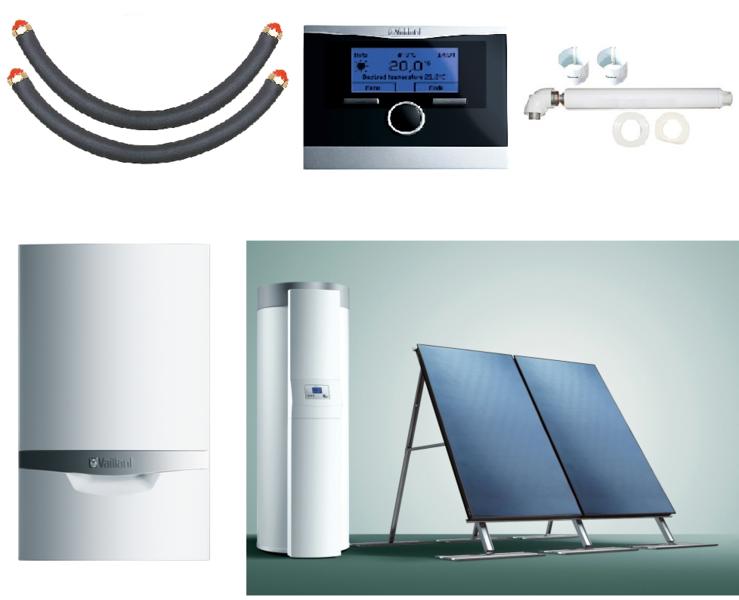 Пакет Vaillant ecoTEC plus VU INT 306/5+auroSTEP plus 2.250 HT+VRC470 (0020201525)