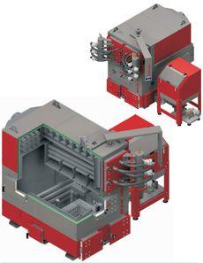 Твердотопливный котел Defro EKO MAX 100-250 + 250 кВт