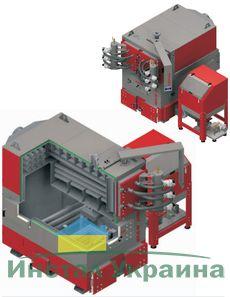Твердотопливный котел Defro EKO MAX 100-250 + 100 кВт