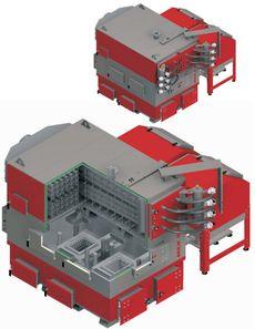 Твердотопливный котел Defro EKO MAX 500-900 900 кВт
