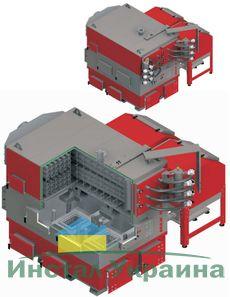 Твердотопливный котел Defro EKO MAX 500-900 600 кВт