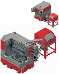 Твердотопливный котел Defro EKOPELL MAX 100-250 + 200 кВт