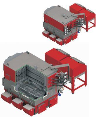 Твердотопливный котел Defro EKOPELL MAX 100-800 700 кВт цена