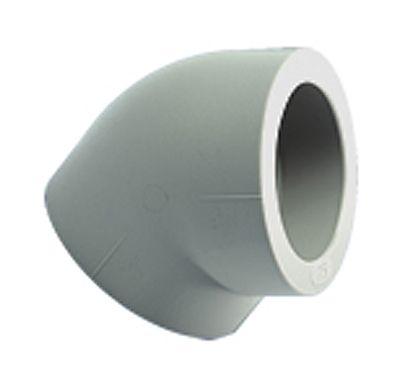 Hydro-PRO Полипропиленовый угол 45° 50 мм