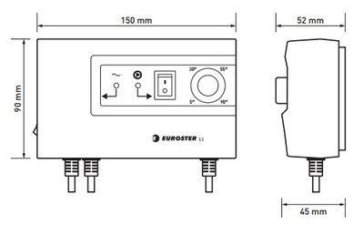 Euroster 11 Термоконтроллер управление насосом, система Антистоп цена