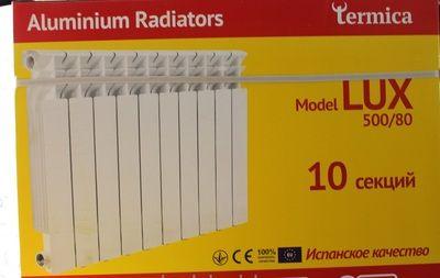Радиатор алюминиевый Termica Lux 500x80 цена