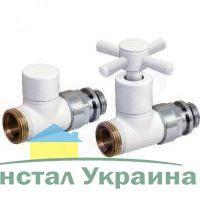 Декоративный клапан прямой регулировки `Futura` белый F419304 `Comap`