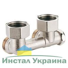 Угловой клапан Giacomini для однотрубных систем ВН 3/4`FX18