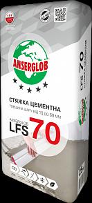 Anserglob LFS-70 Цементная стяжка 10-60 мм цена