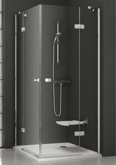 Душевой уголок SmartLine SMSRV4-80 хром+transparent
