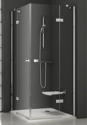Душевой уголок SmartLine SMSRV4-80 хром+transparent цена