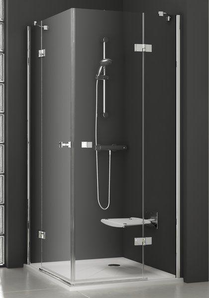 Душевой уголок SmartLine SMSRV4-90 хром+transparent