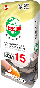 Anserglob ВСМ-15 Смесь для клинкерного кирпича цвет шоколад