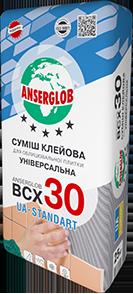 Anserglob ВСХ-30 Клеевая смесь для плитки