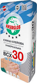 Anserglob ВСХ-30 Клеевая смесь для плитки цена