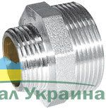 580 Ниппель-переходник 1 Rх3/4 R НИКЕЛЬ Valtec