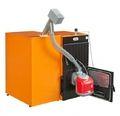 Твердотопливный пеллетный котел Ferroli SFL / 3 + горелка SUN P7 + бункер 195 л + дверца для перехода на (дрова/уголь)
