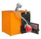 купить Твердотопливный пеллетный котел Ferroli SFL / 3 + горелка SUN P7 + бункер 195 л + дверца для перехода на (дрова/уголь)