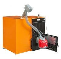Пеллетный котел Ferroli SFL / 4 + горелка SUN P7 + бункер 350 л + дверца для перехода на (дрова/уголь)