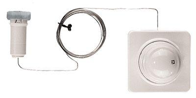 Термостатическая головка Herz Герц Дизайн D с дистанционным управлением М 28х15 2 метра труби цена