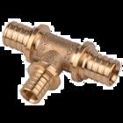 купить Heat-PEX Тройник редукционный с 2-мя зауженными проходами (материал - латунь) d25 x d20 x d20 мм (2013200)