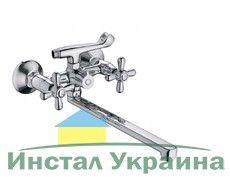 Смеситель для ванны Haiba Dominox Satin 140