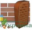 Клинкерный кирпич фасонный Ф1 Керамейя Оникс