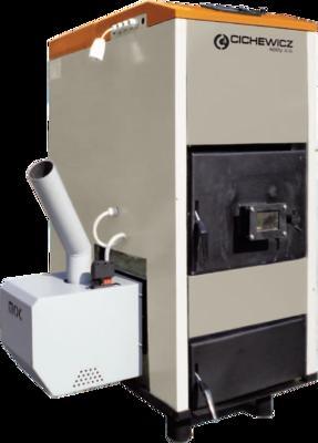 Твердотопливный пеллетный котел LOGICA Futura Pel-lets 40kW цены