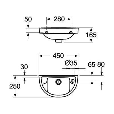 Раковина Gustavsberg NORDIC GB1124500108 цена