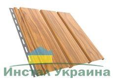 Bryza Софит (сайдинг) гладкий 4000 мм х 305 мм (Золотой орех)