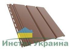 Bryza Софит (сайдинг) гладкий 4000 мм х 305 мм (Коричневый)