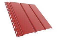 Bryza Софит (сайдинг) гладкий 4000 мм х 305 мм (Красный)