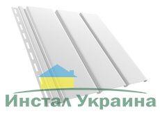 Bryza Софит (сайдинг) гладкий 4000 мм х 305 мм (Белый)