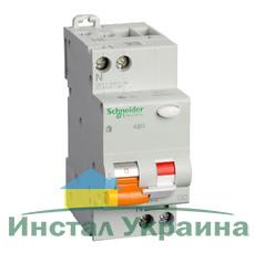 Schneider electric Дифференциальный автоматический выключатель АД63 2Р, C, 40А, 30mА (11475)