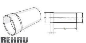 Rehau для внутр. канализации Патрубок для сифону RAUPIANO PLUS прямий 50/40-30