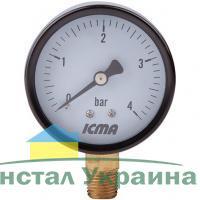 ICMA манометр 244 1/4 R 6 бар