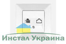 VIKO MERIDIAN белый розетка Телефонная евростандарт (CAT3)