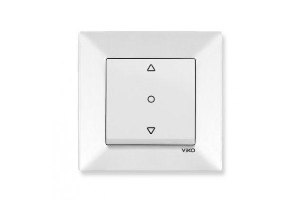 VIKO MERIDIAN белый кнопочный переключатель управления жалюзи