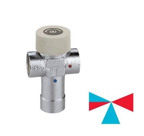 Caleffi смеситель-термостат 3/4` (30-48 С) (520530)