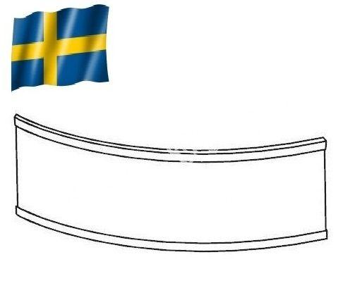 Панель для акриловой ванны Gustavsberg Фронтальная панель Cassandra ассиметричная 180 L/R UBPA18004FF3-01