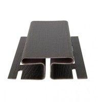 RAINWAY Софит H - профиль 3000 мм (коричневый)