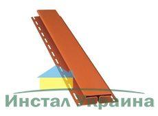Bryza Софит H - профиль (Т-профиль) 3000 х 85 мм (Кирпичный)